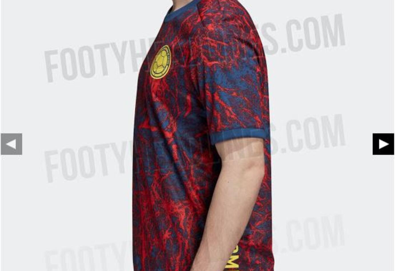 Camiseta Entrenamiento Selección Colombia 2020