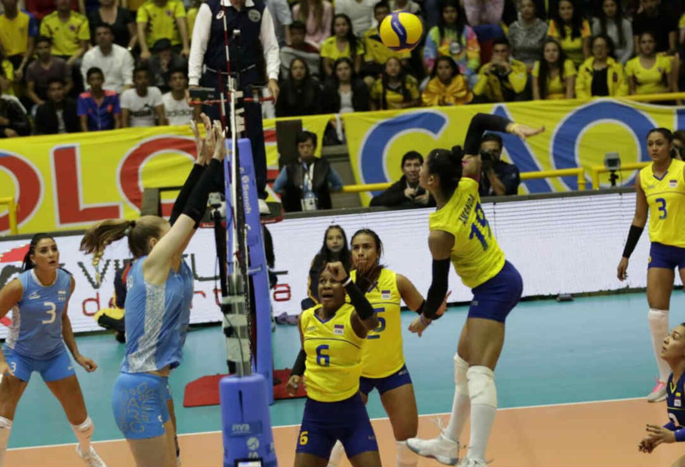 Colombia - Argentina - Voleibol