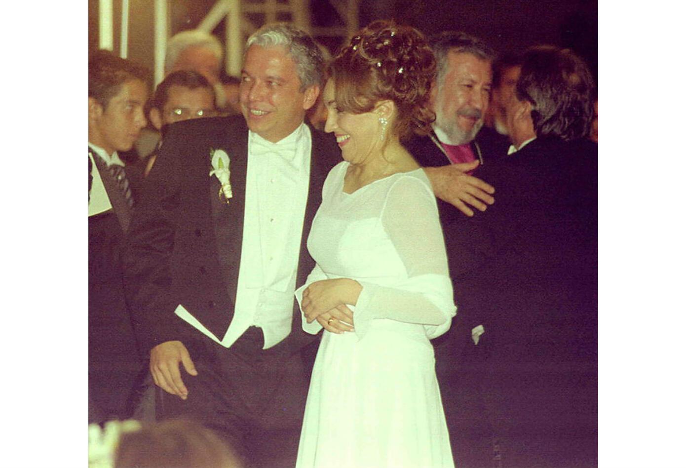 Matrimonio de Viviane Morales y Carlos Alonso Lucio