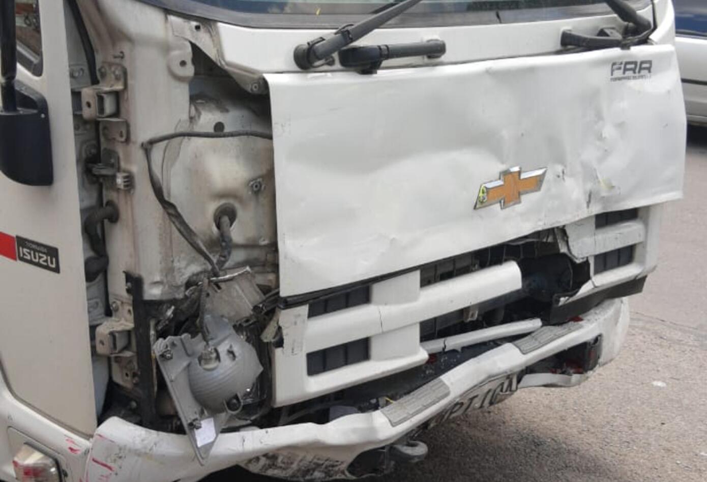 Accidente Tránsito Av primero de Mayo