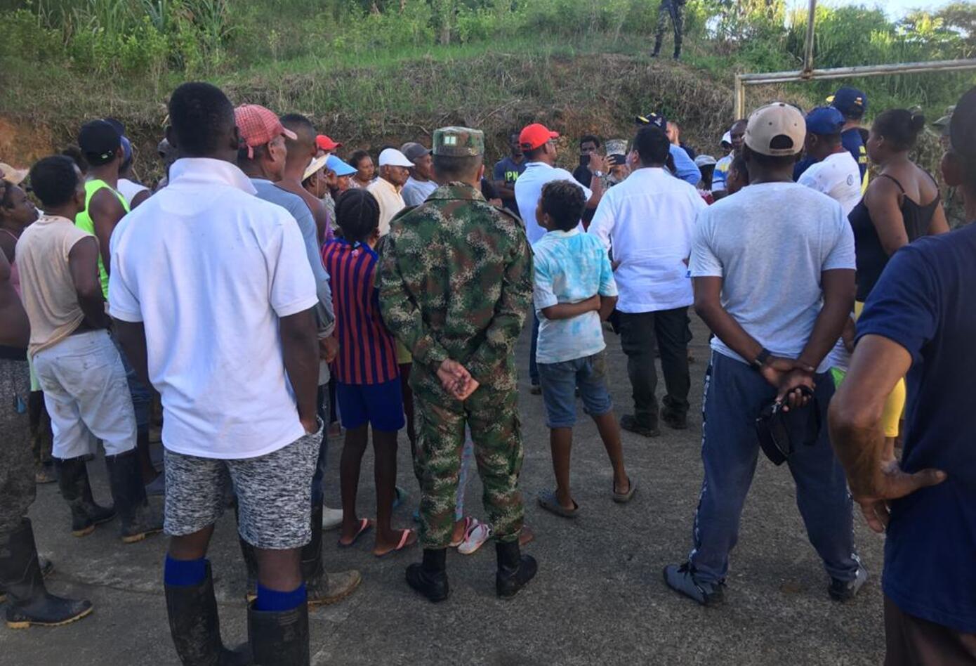 Desplazados en Tumaco regresan a sus territorios en le río Chagüi.