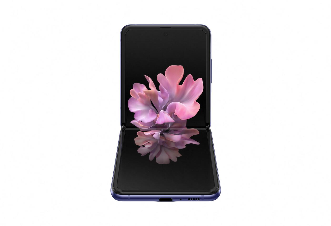 El Samsung Galaxy Z tiene un aire retro