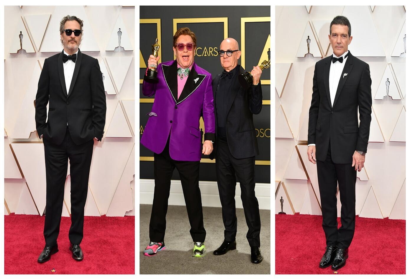 Joaquin Phoenix/Elton John y Bernie Taupin/Antonio Banderas
