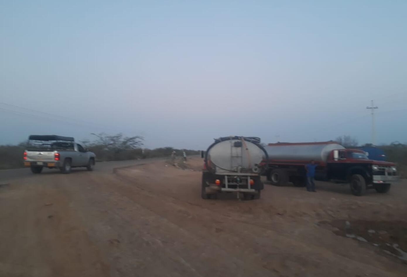 la comunidad pide solución de agua