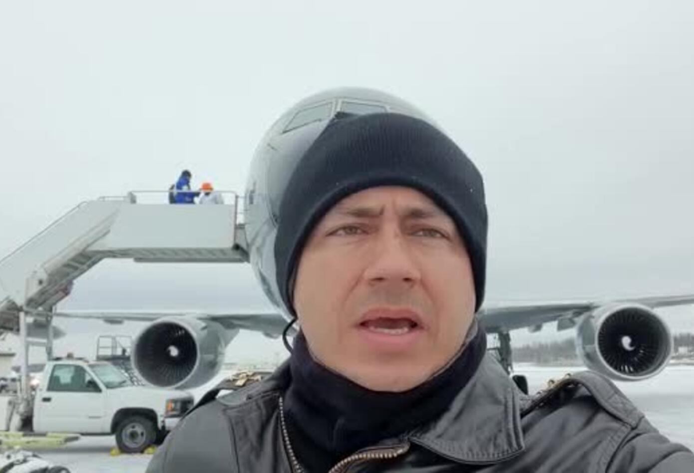 Avión de la FAC que irá a Wuhan está en Alaska