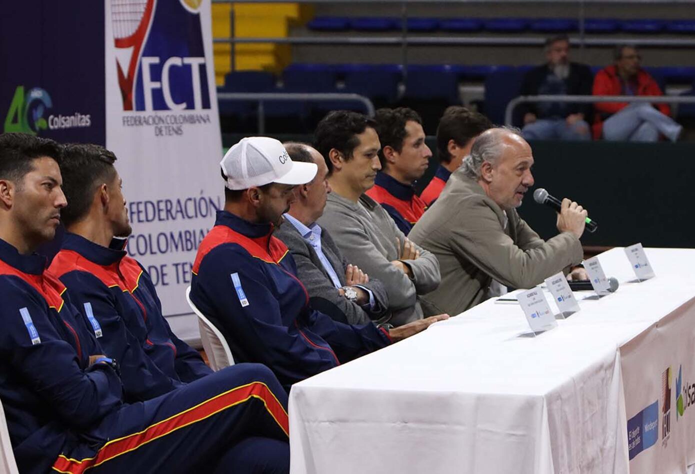 Cancha de Copa Davis - 2020