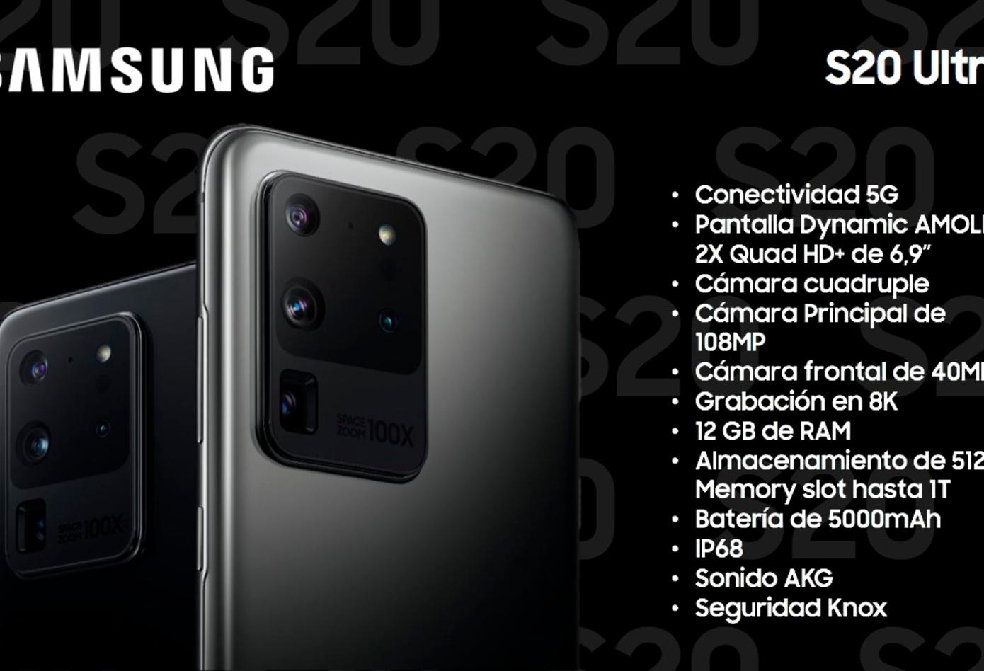 Samsung S20, el nuevo teléfono de la linea S
