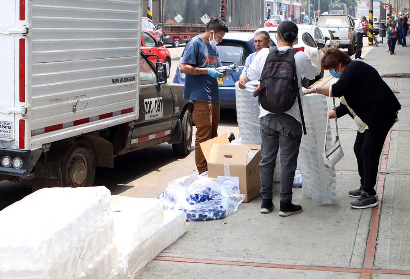 Coronavirus en Colombia / Supermercados / Desabastecimientos por coronavirus