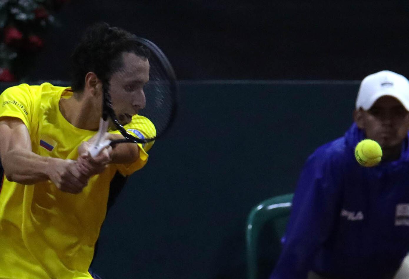 Galán vs Lóndero - Copa Davis