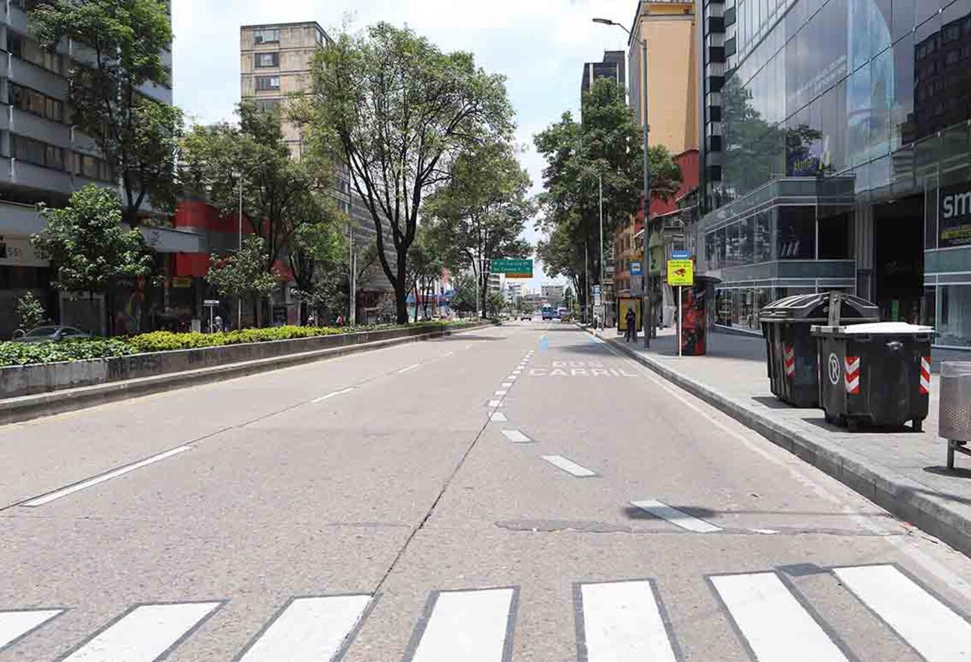 Cuarentena en Bogotá - Tercer día