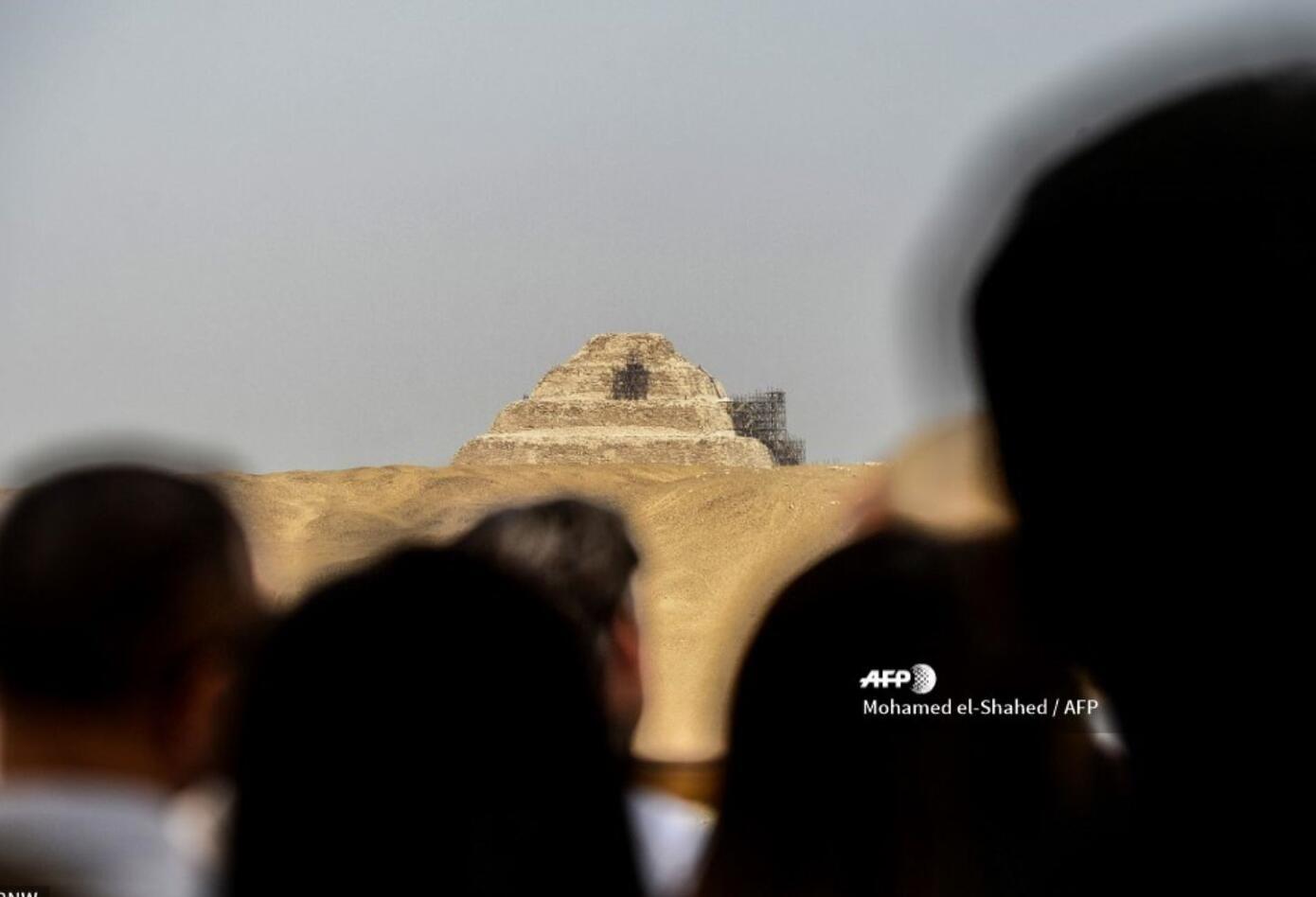 La pirámide del faraón Zoser está ubicada en Saqqara, al sur de El Cairo, y data de 4.700 años de antigüedad.