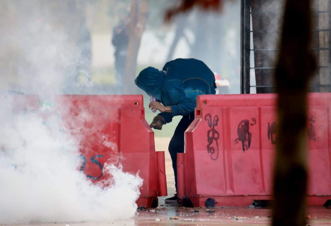 Disturbios Universidad Nacional - Marzo 5