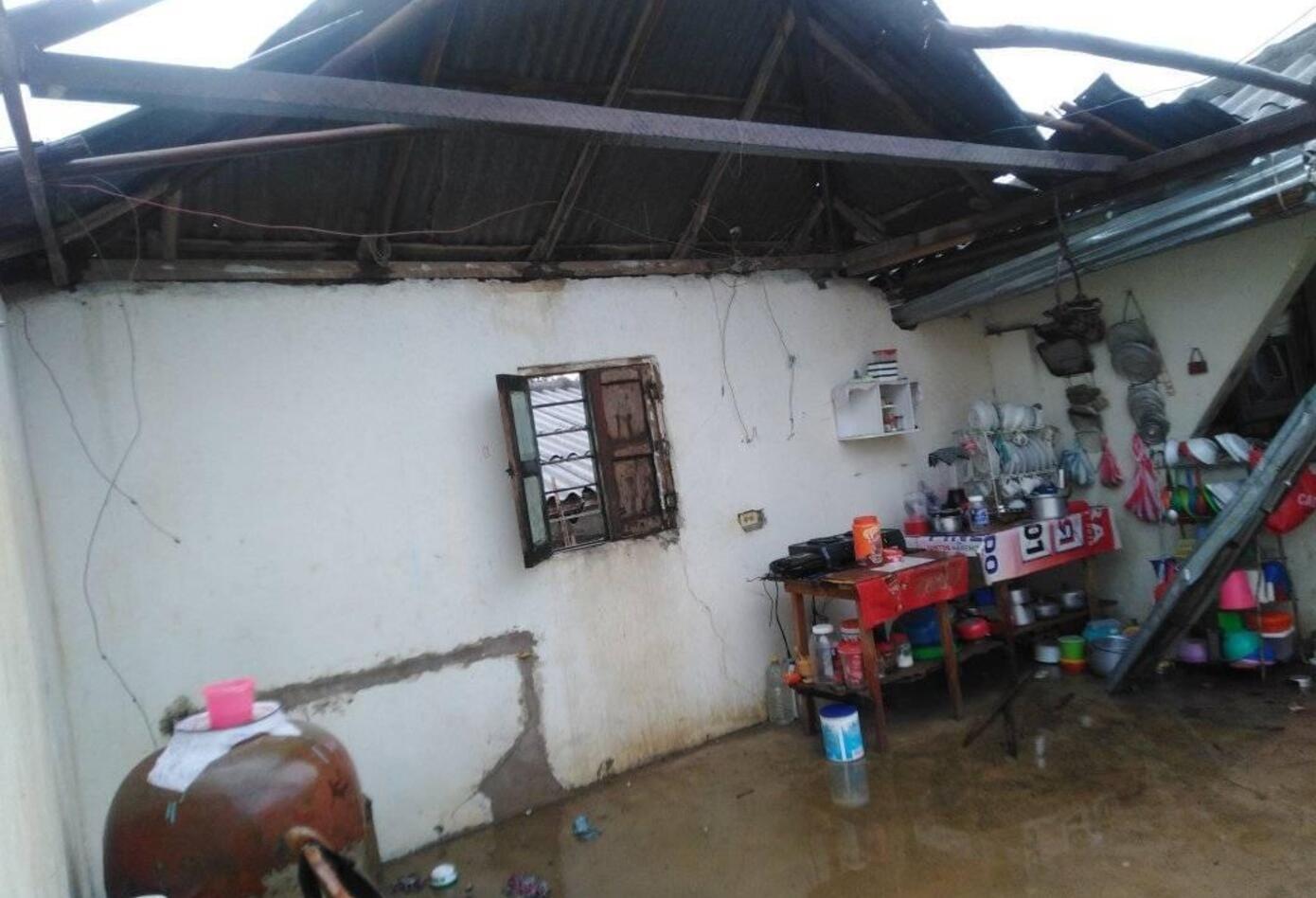 La alcaldía evalúa los daño y habilita dos instituciones educativas para albergar a los damnificados