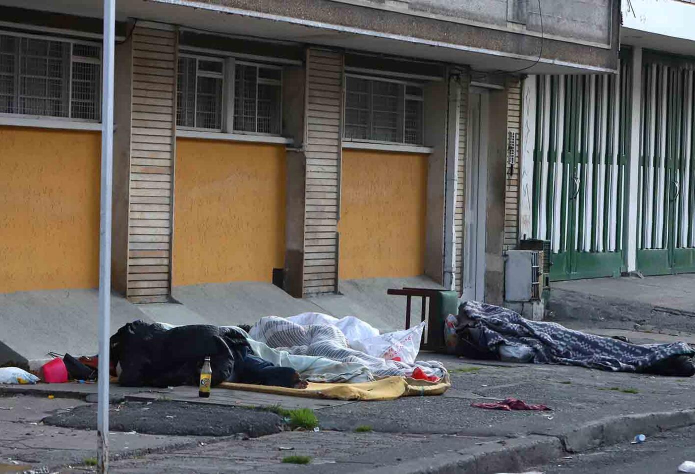 La triste realidad de los habitantes de calle en medio de la cuarentena