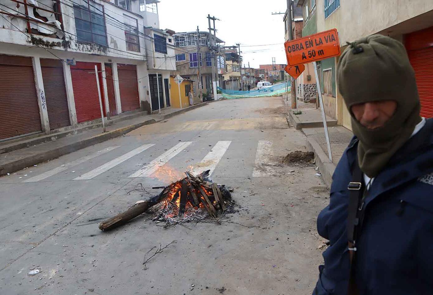 Por parte de la Alcaldía, según los manifestantes, no han recibido apoyo.