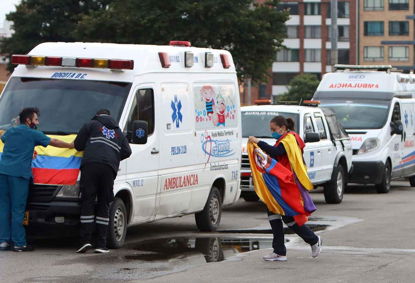 Héroes anonímos en la cuarentena: Los enfermeros