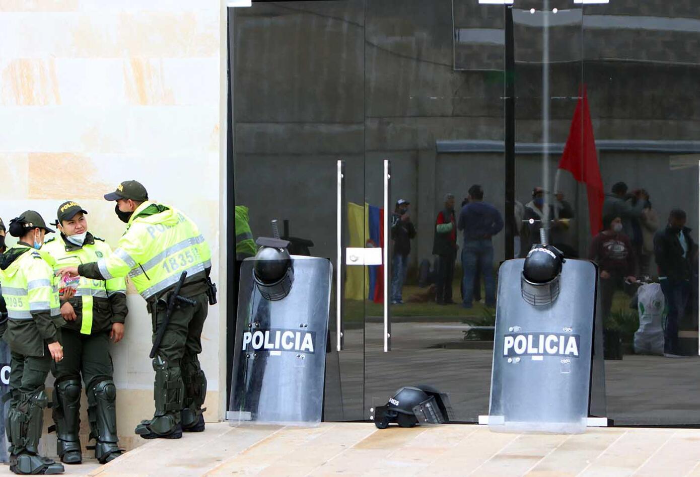 Protestas en la cuarentena / reclamos en alcaldía de Ciudad Bolívar