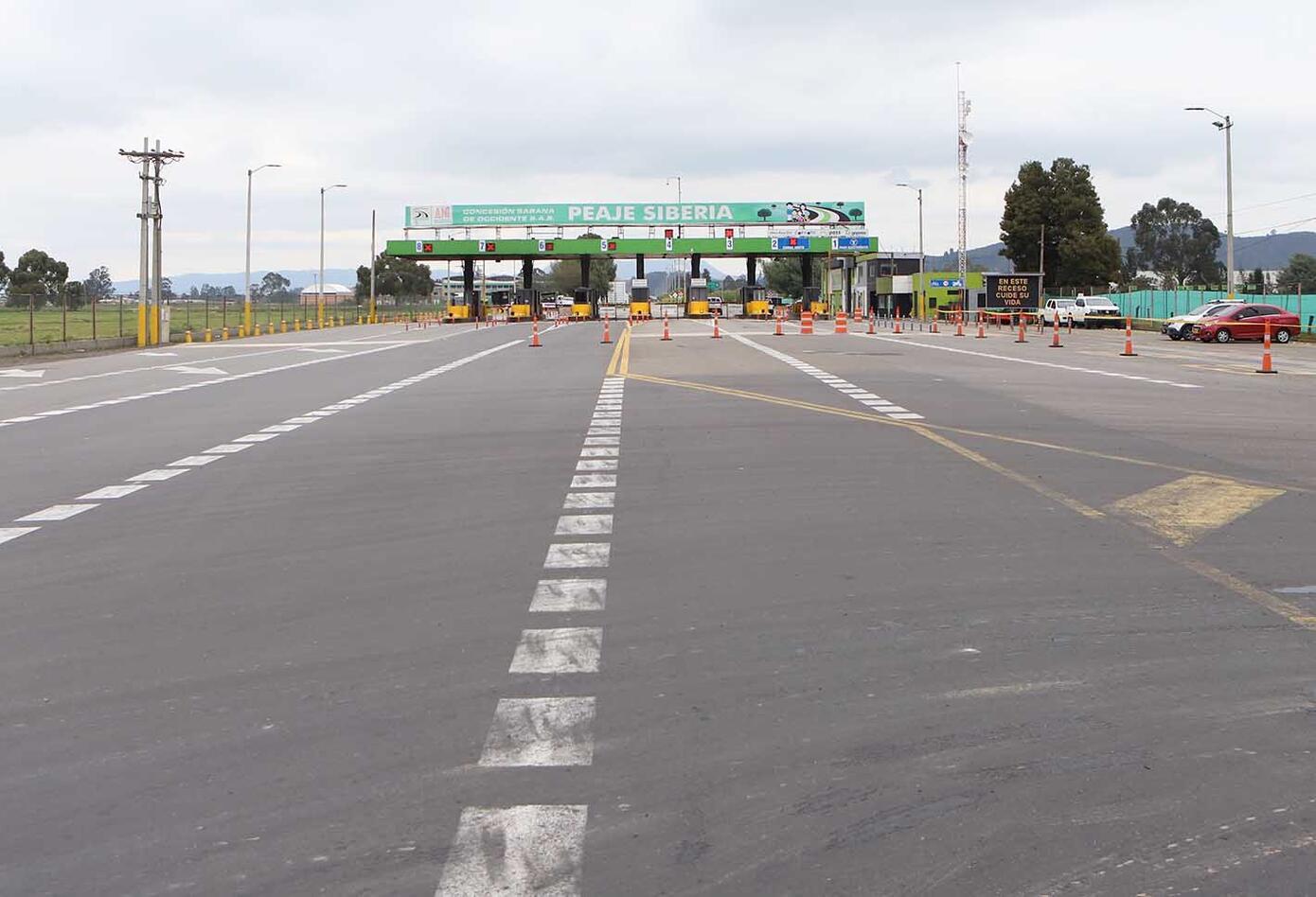 Carretera - salida de Bogotá