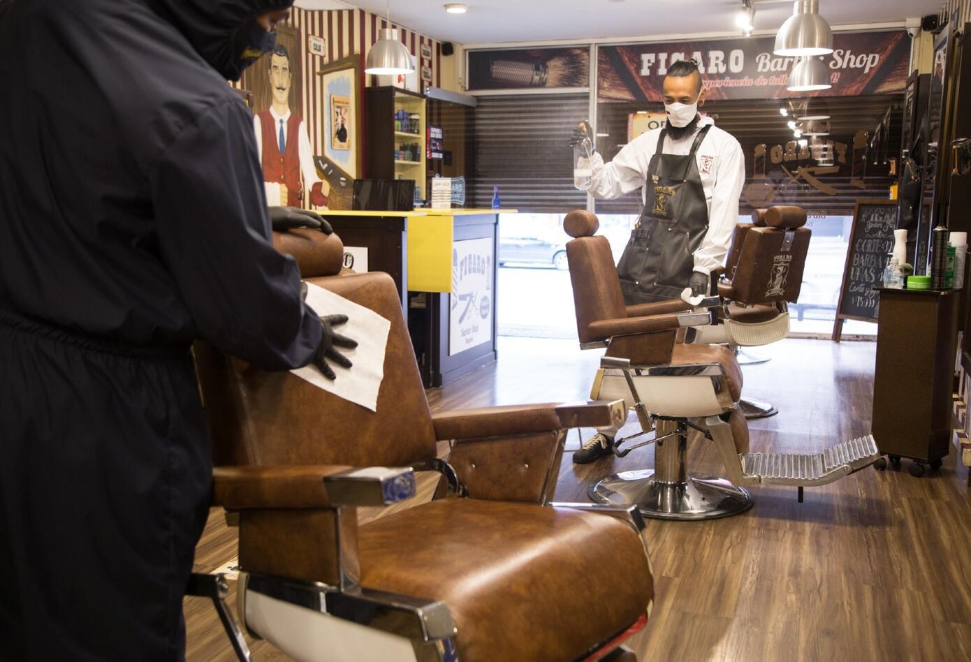 Protocolos en barberías