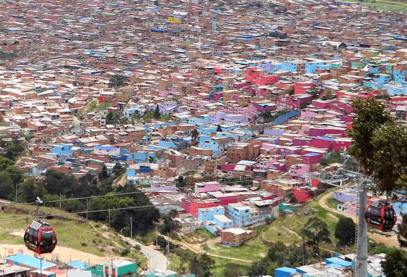 Bogotá desde las nubes: El relato de una ciudad confinada