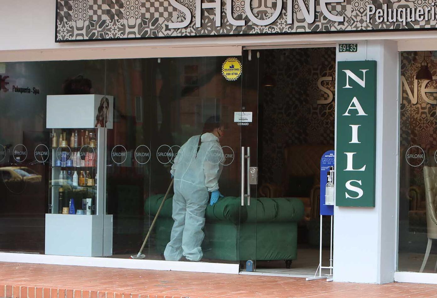 Peluquerías en tiempos de coronavirus en Colombia / Bioseguridad en salones de belleza
