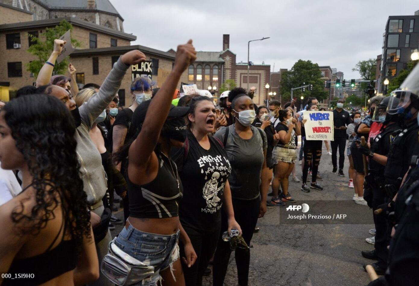 Protestas en Boston