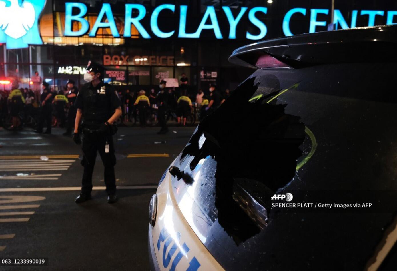 Protestas en Brooklyn