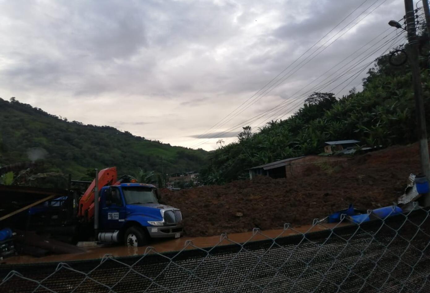 25 familias fueron evacuadas de manera preventiva