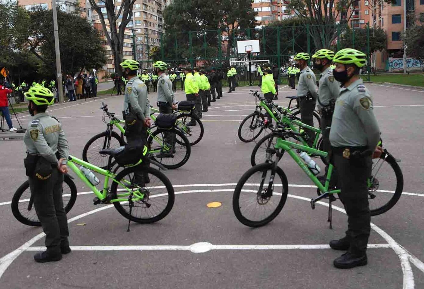 Cuadrantes de la Policía de Bogotá
