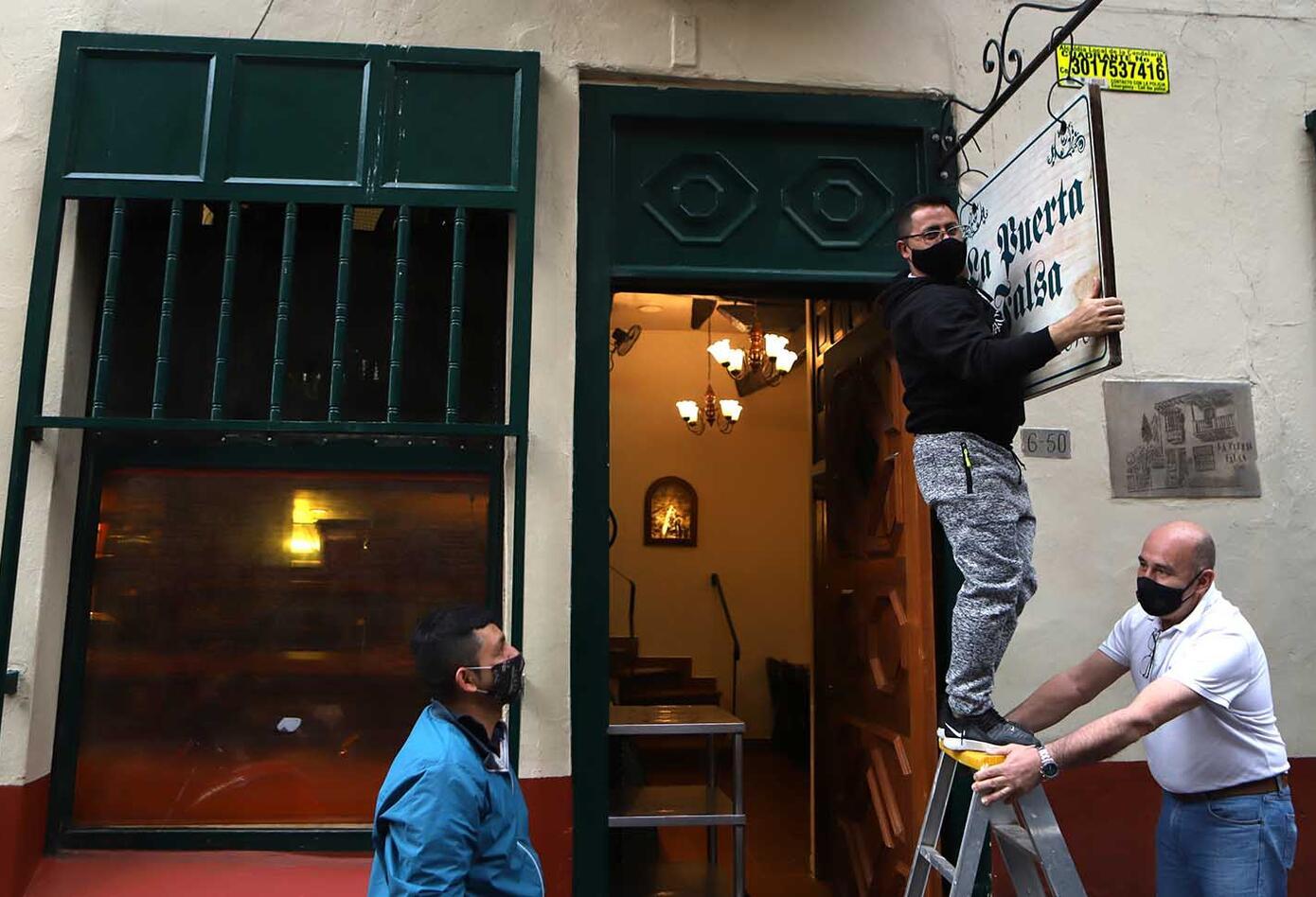 La Puerta Falsa reabre en pandemia / Restaurantes de Bogotá