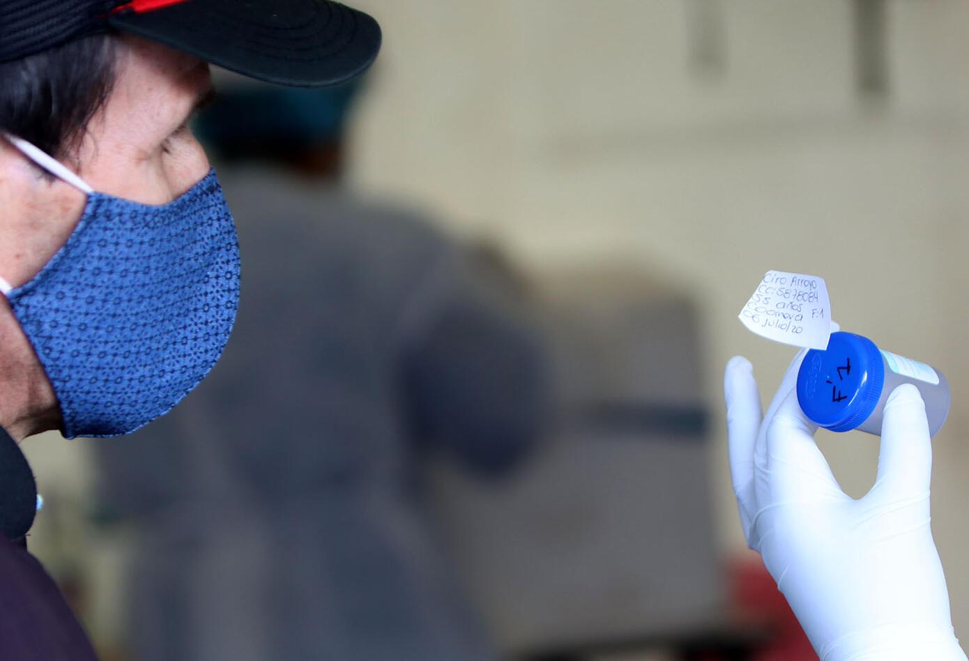 Coronavirus en Colombia – Toma de pruebas en Transmilenio