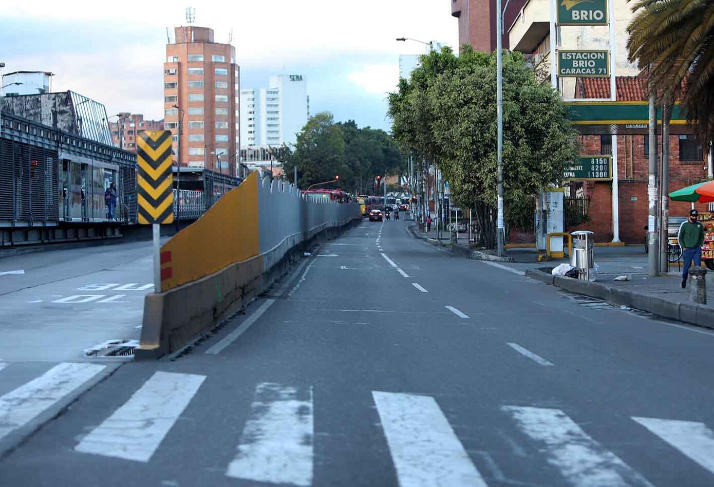 Cuarentena por sector en Bogotá