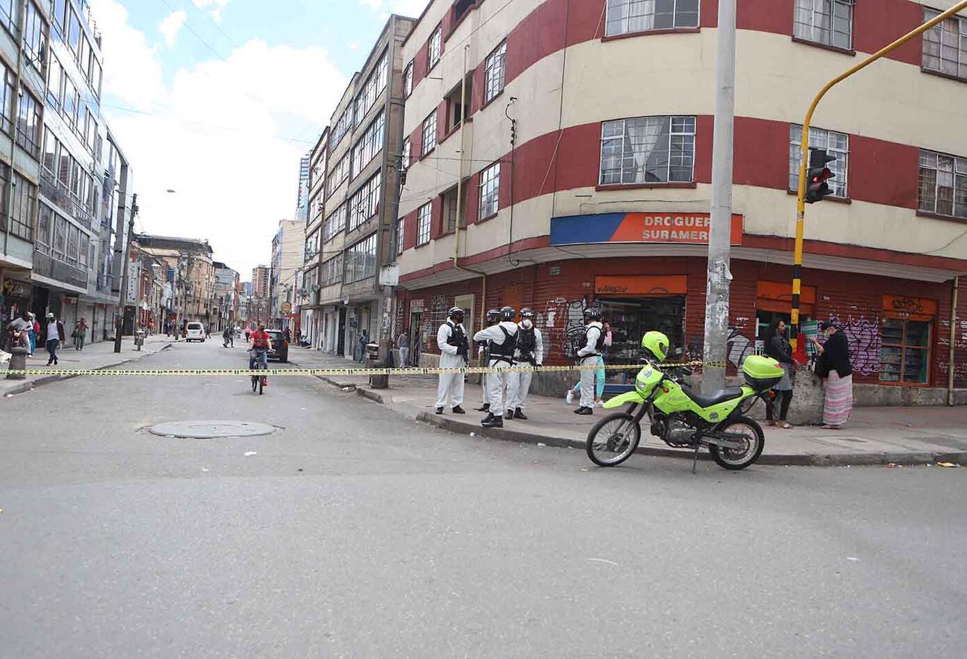 Cuarentena en Bogotá: Disminuyó tránsito y afluencia de personas durante segundo asilamiento estricto.