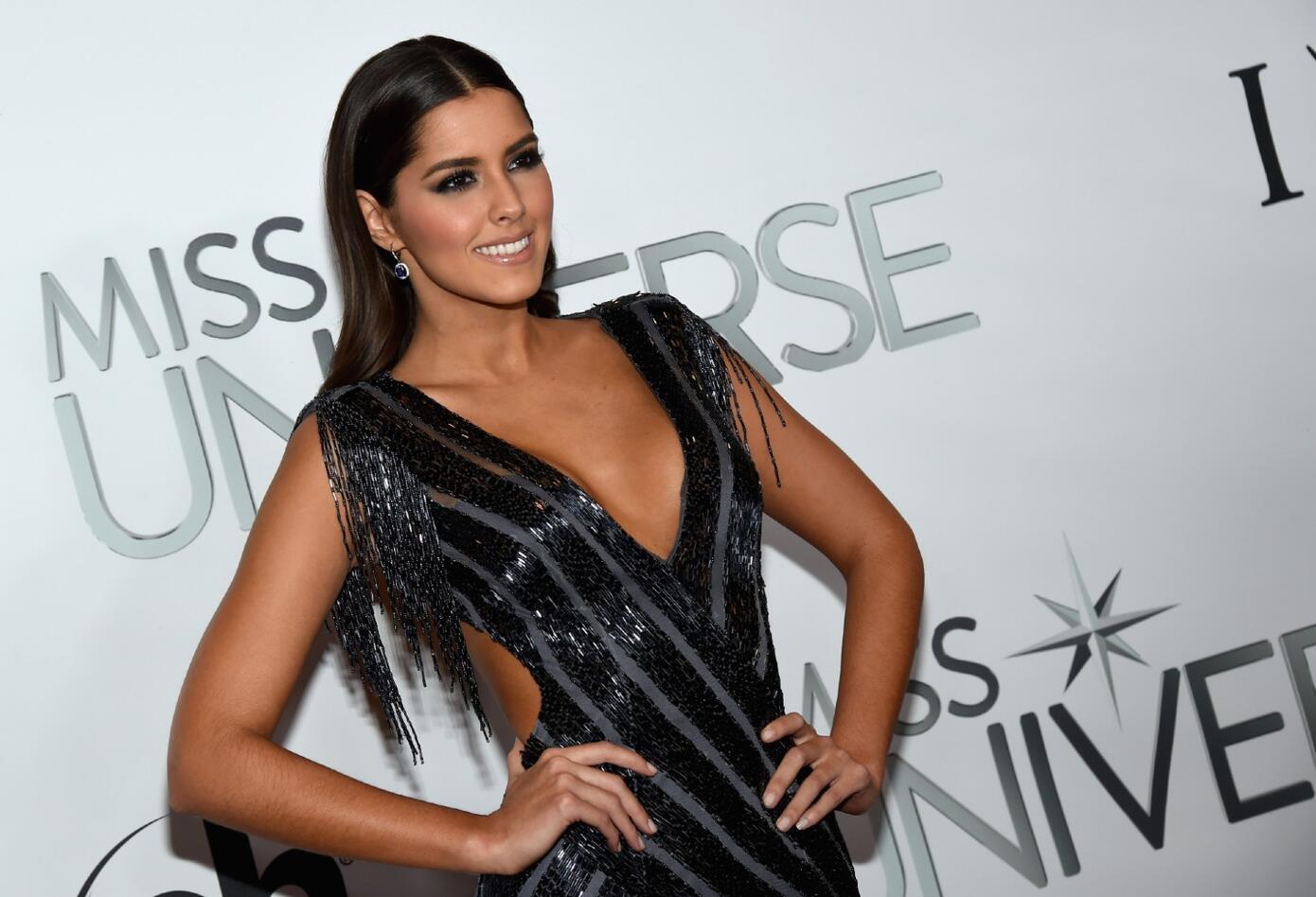 Paulina Vega cuando fue Miss Universo 2014