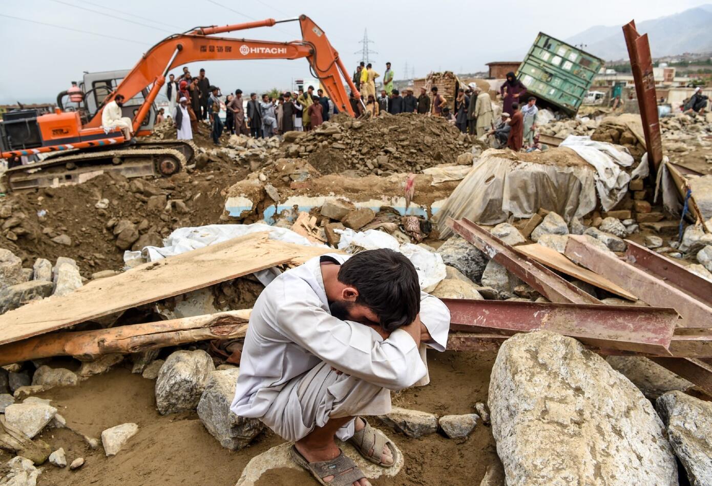 Inundación en Kabul