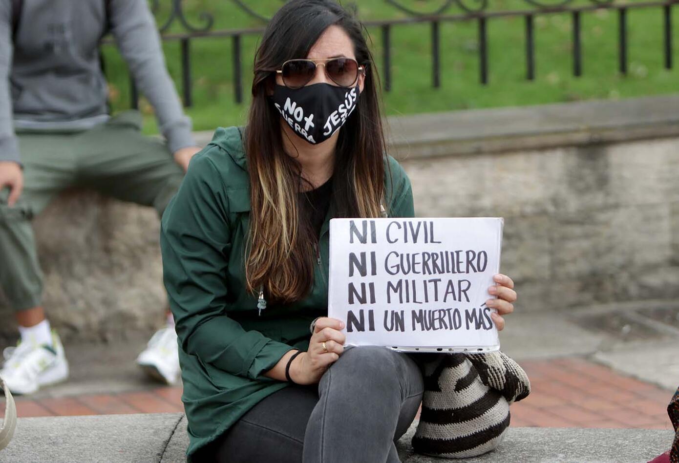 Protesta de jóvenes por la vida