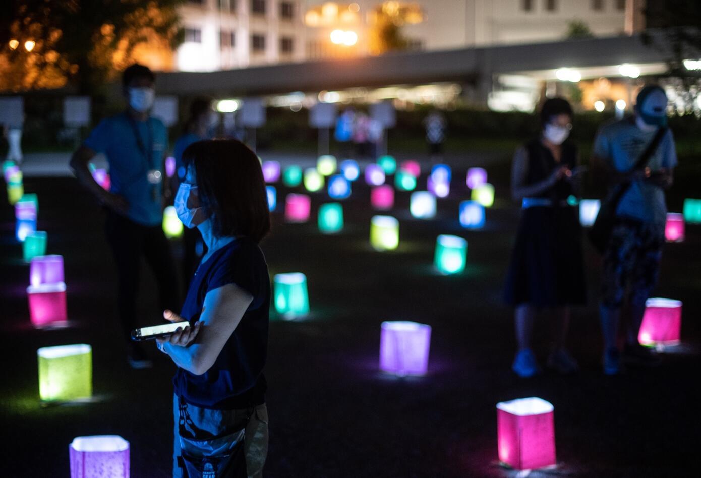 Japón conmemora los 75 años de la primera bomba atómica en Hiroshima