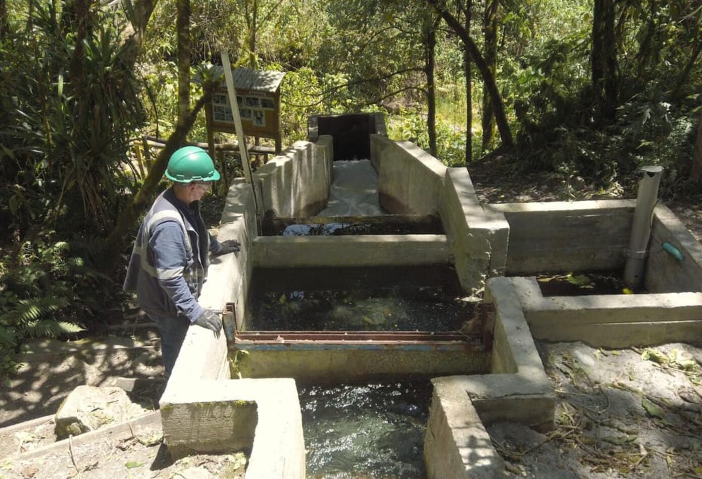 Planta de tratamiento de aguas - Invias