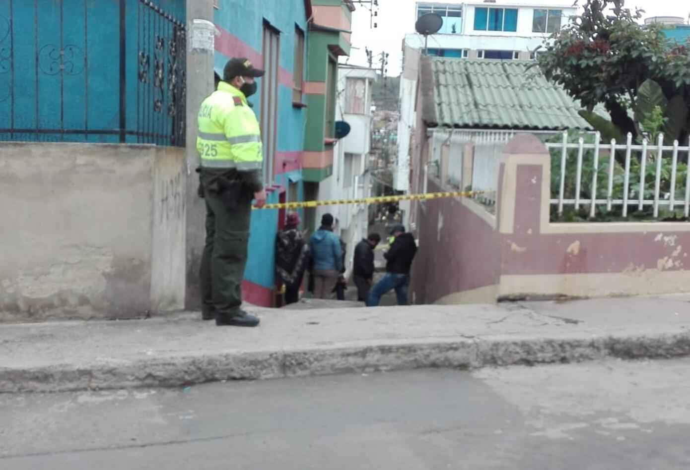 Levantamiento en una casa en Tunja