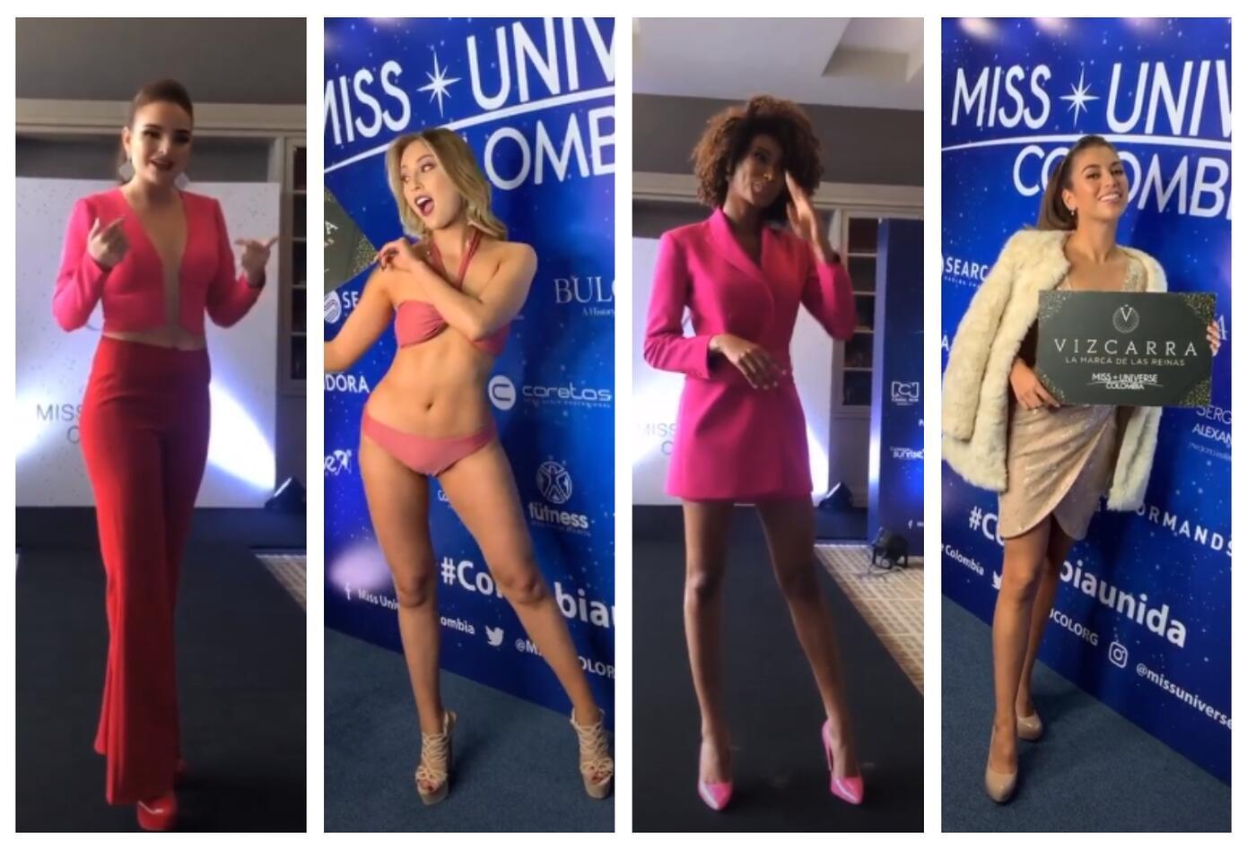 Precandidatas de Miss Universe Colombia