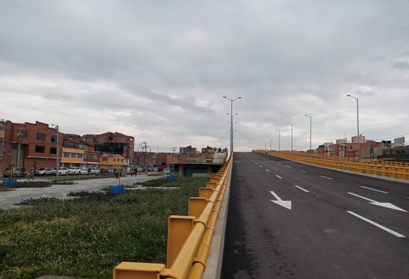 Puente José Celestino Mutis en Bogotá.