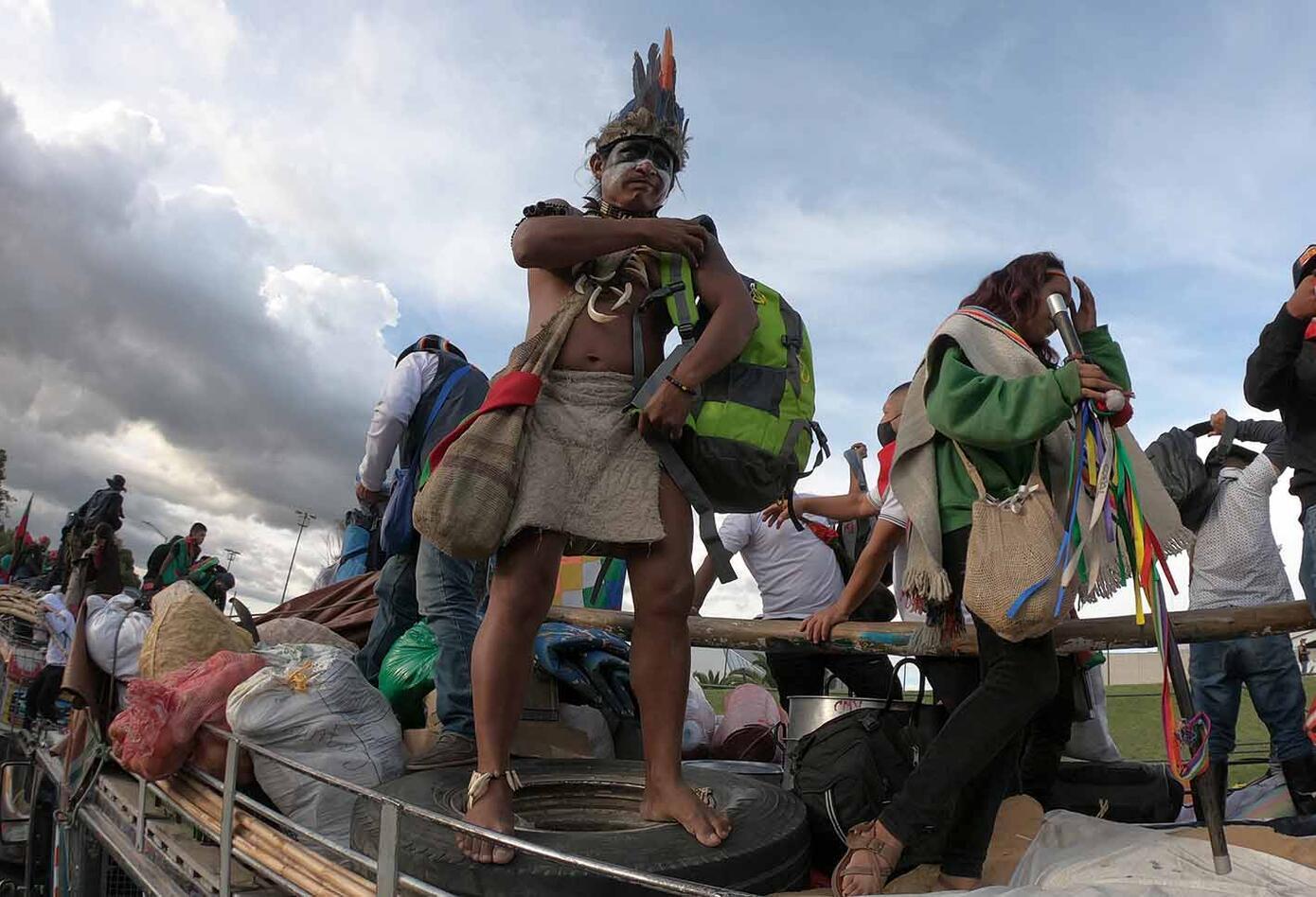 La Minga Indígena ya se encuentra en Bogotá