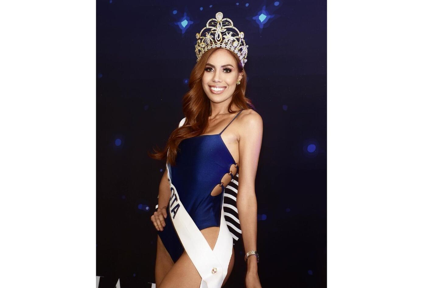 Miss Bogotá, María Del Mar Meza