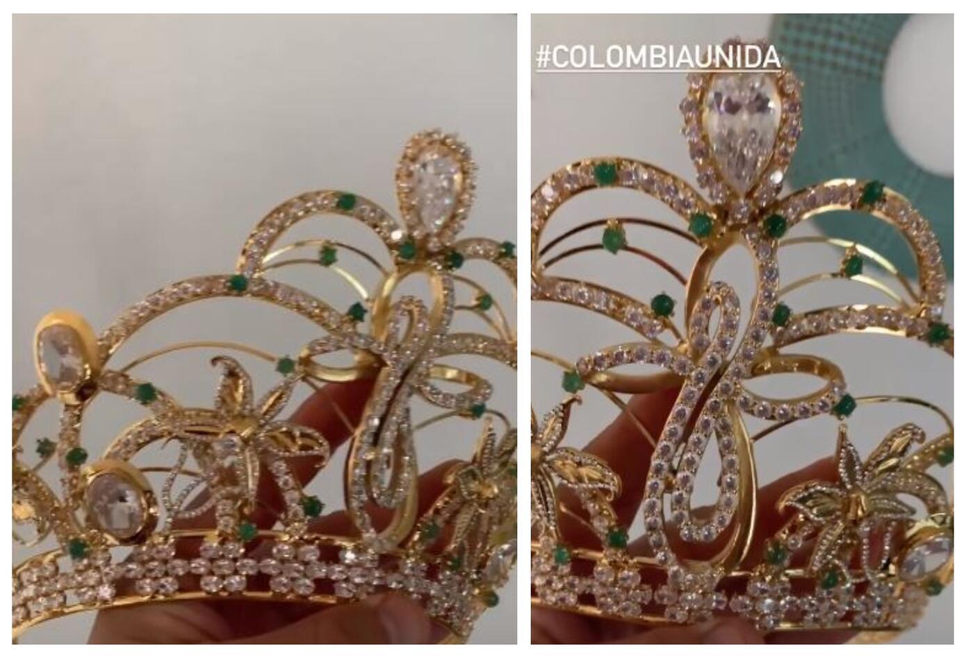 Corona de Miss Universe Colombia