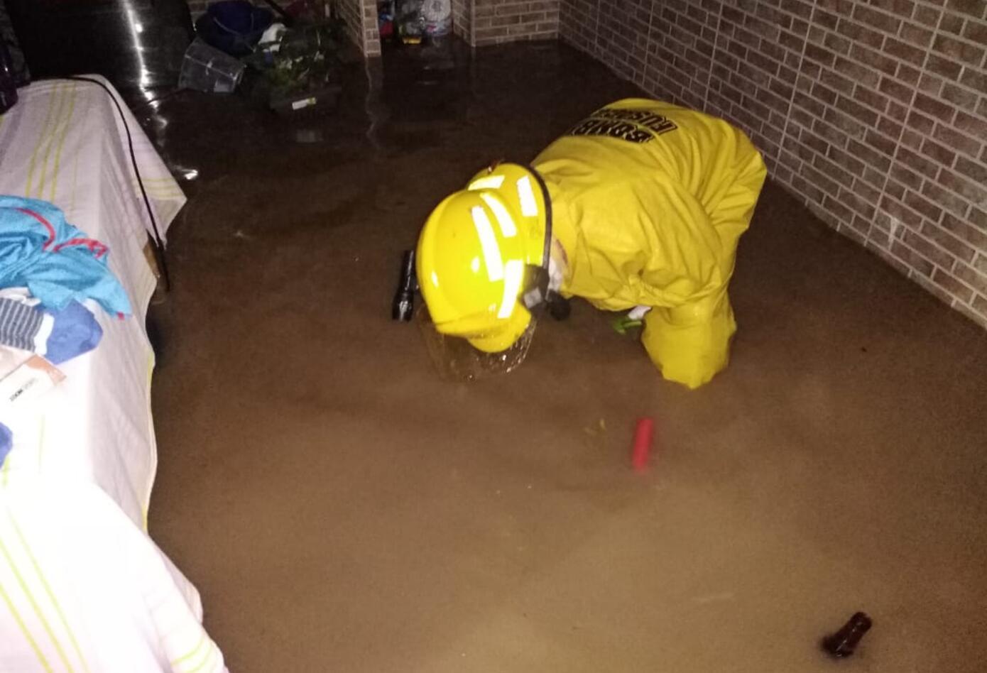 Invierno deja viviendas inundadas en Fusagasugá
