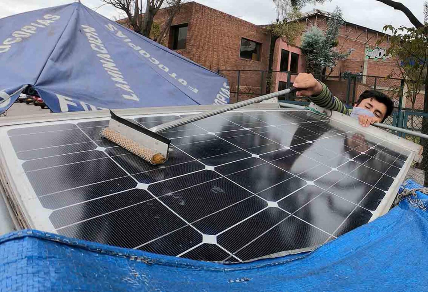 Fotocopiadora con luz solar, una idea para evitar dañar el planeta