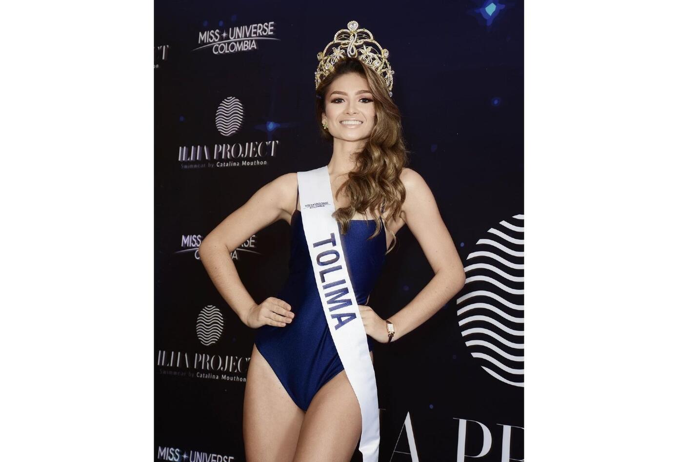 Miss Tolima, Juanita Sánchez