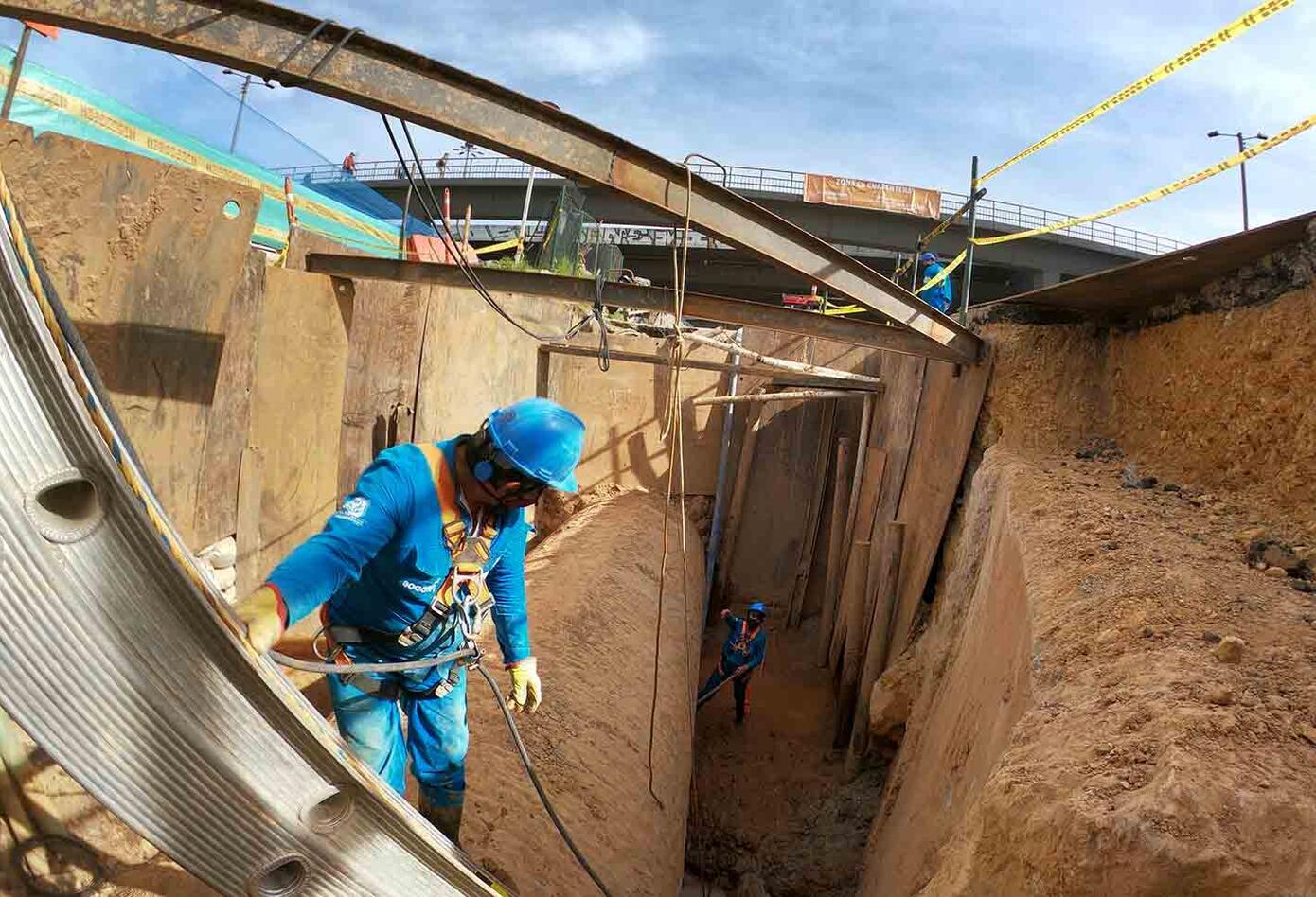 Arreglo del Acueducto por el Metro de Bogotá