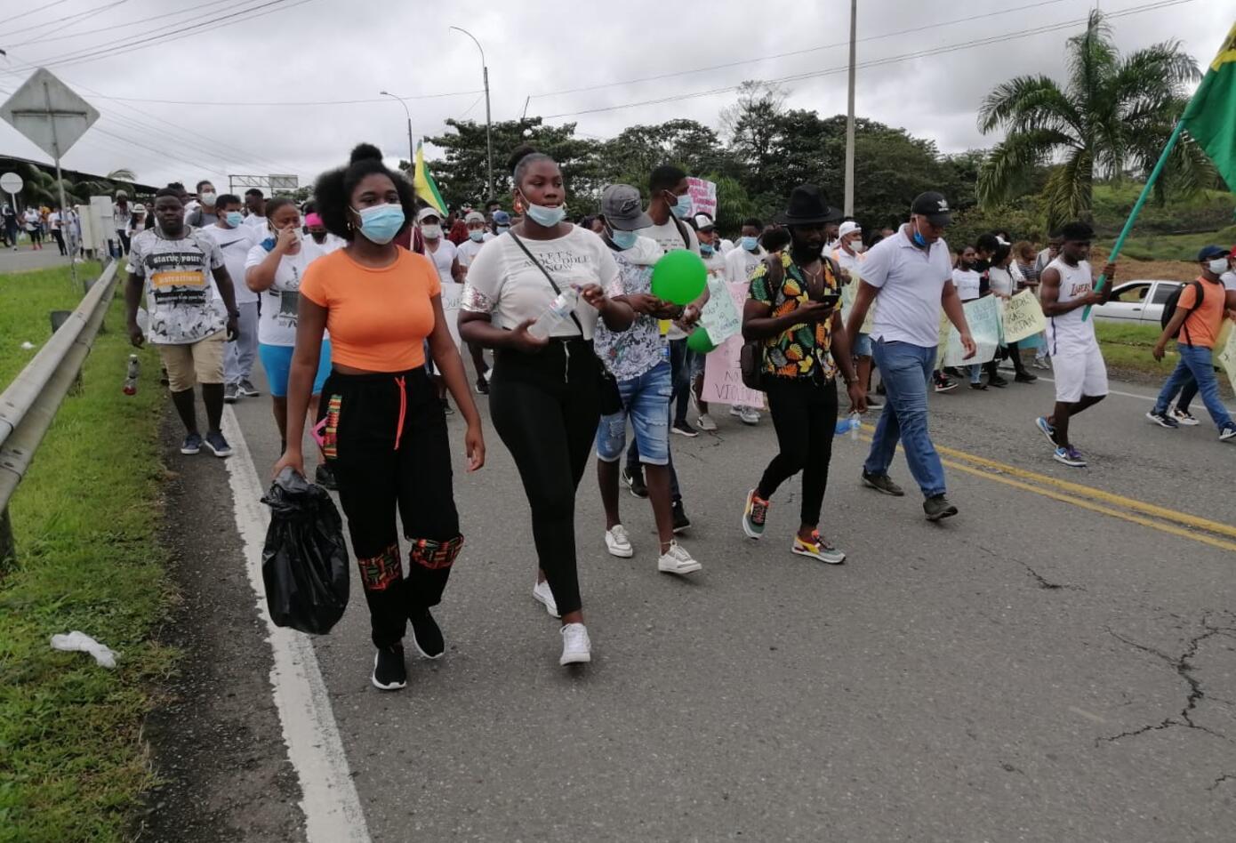 Marca contra la violencia en Buenaventura