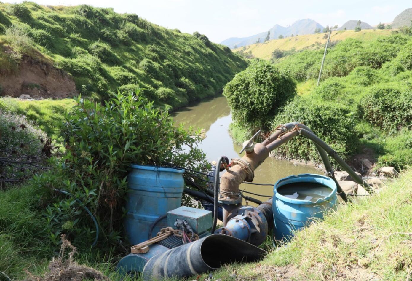 Afectación ambiental en el río Tunjuelo